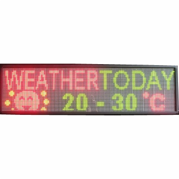 Multi-color Led Display