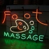 FOOTMASSAGE Neon Sign
